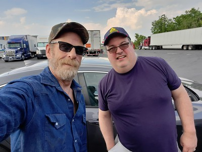 Craig Pinto met up with us at the Love's truckstop in Toms River, Virginia on May 26, 2021