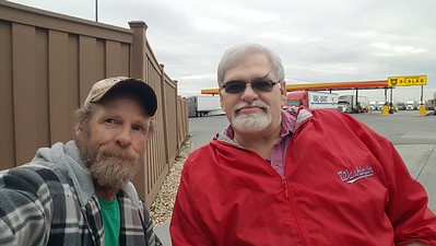 Christopher - wheelman82 rolled up to meet us at the Pilot truckstop in Hagerstown,  Maryland on October 26, 2019