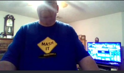 Forrest K from Covington, Georgia has been following BigRigTravels for 3 years and loves his Mash It Shirt