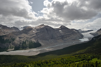 The Saskatchewan Glacier