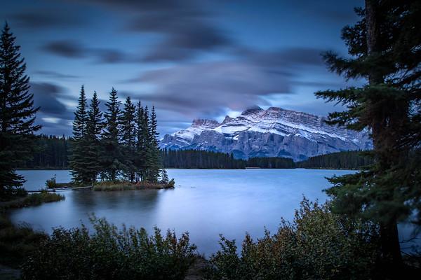 Sunrise at Two Jack Lake - Alberta, Canada
