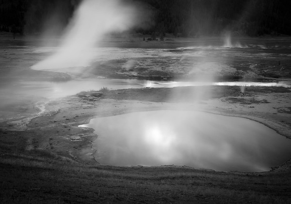 Geysers and Pools Yellowstone