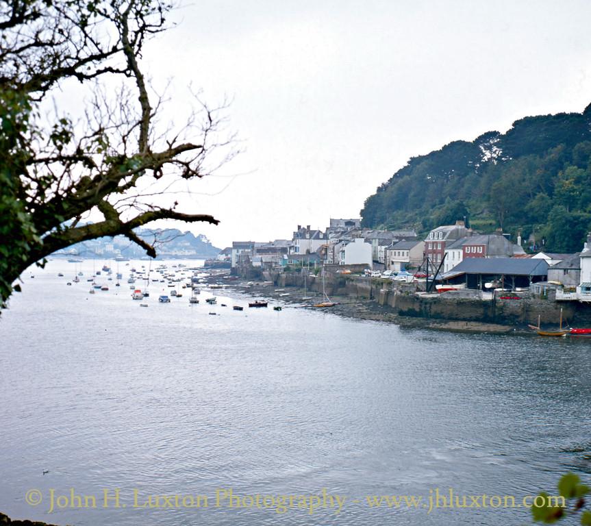 Fowey, Cornwall. September 1982