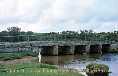 Delford Bridge, St. Breward, Bodmin Moor, Cornwall  - August 1982