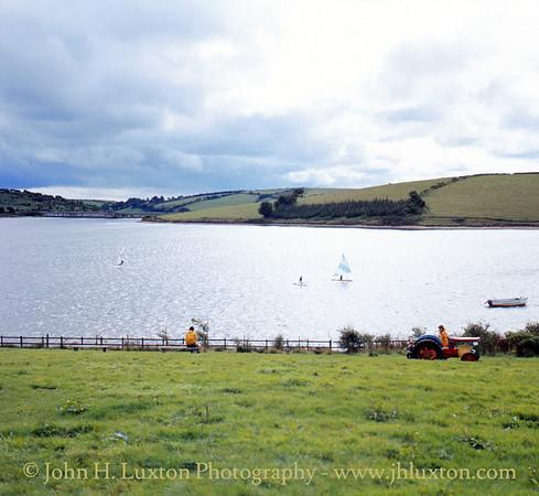Siblyback Lake (Reservoir), Bodmin Moor, Cornwall - August 1982