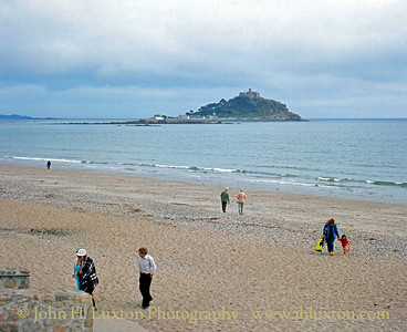 St. Michael's Mount, Marazion, Cornwall. September 1982