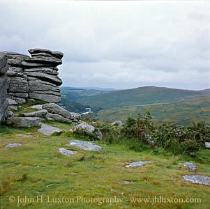 Combestone Tor, Hexworthy, Dartmoor - August 1982