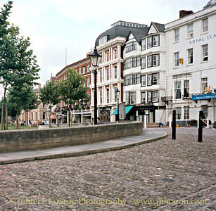 Cathedral Yard, Exeter, August 1982