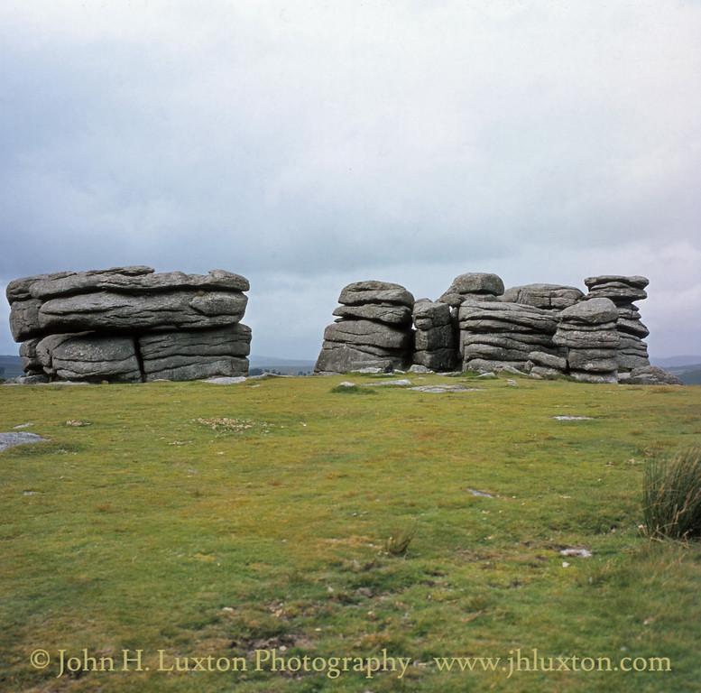 Combestone Tor, Hexworthy, Dartmoor. August 1982