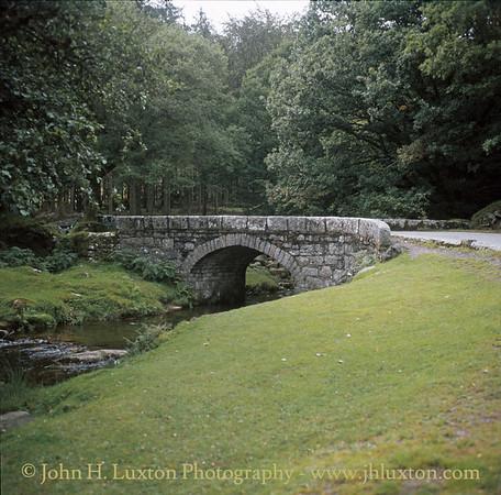Norsworthy Bridge, Burrator, Dartmoor - August 1982.