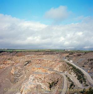 Delabole Slate Quarry, Cornwall. - August 1982