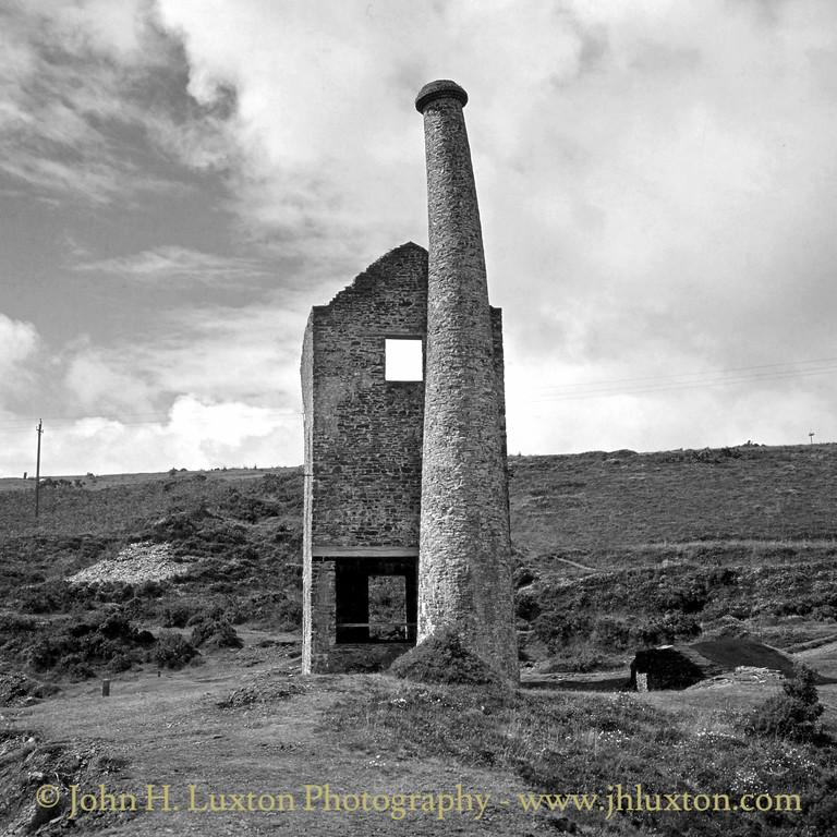 Wheal Betsy Mine, Mary Tavy, Dartmoor, Devon. August  23, 1982