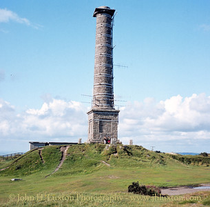Kit Hill Mine Chimney - August 1982