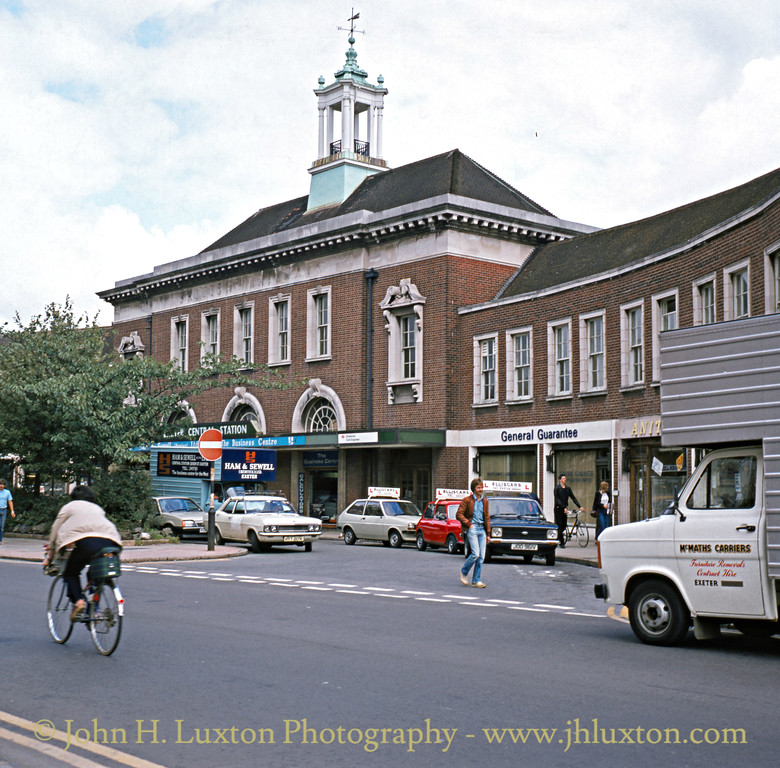 Exeter Central Station - August 1982