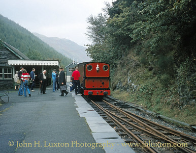 Abergynolwyn Station, Talyllyn Railway September 1982