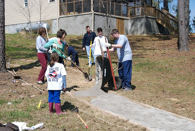 March 2007 Work Party