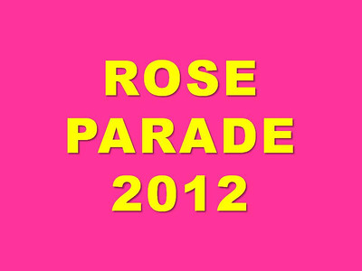 Rose Parade title slide