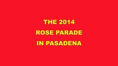 SmugMug title slide (Rose Parade)
