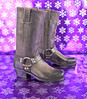 Ruby Slipper 12 Days of Christmas, Frye Harness Boot, Charcoal