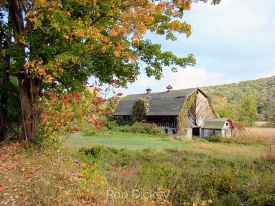 Old Dairy Barn in Pennsylvania