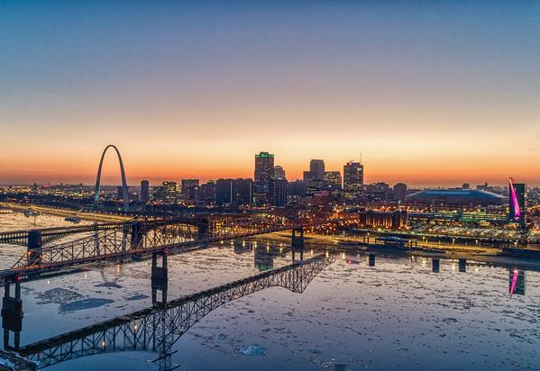 St. Louis Downtown Skyline