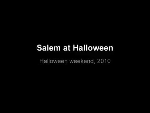 Scenes from Halloween weekend 2010, in Salem. Video by Amanda McGregor, Salem News staff.