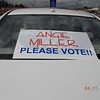 This car travels all over the North Shore encouraging votes for Angie!!<br /> <br /> Photographer's Name: Honey Amirault<br /> Photographer's City and State: Nahant, MA