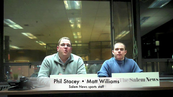 Rink Report for Jan. 16, 2011, with Salem News Sports editor Phil Stacey and Sports Writer Matt Williams