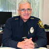 New Boxford police chief.<br /> Photo by Alan Burke/Salem News, Wednesday,  February 15, 2012.