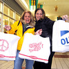 Danvers:<br /> Cheryl Glidden and Jennifer Coles, both of Beverly<br /> talk about the items they purchased at the Liberty Tree mall on Black Friday.<br /> Photo by Cate Lecuyer/Salem News, Friday November 27, 2009.