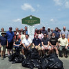 Net Atlantic Volunteers Clean Dead Horse Beach in Salem, MA <br /> <br /> Photographer's Name: Marianne Cellucci<br /> Photographer's City and State: Salem, MA