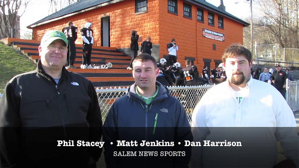 Salem at Beverly: Thanksgiving Day football 2010