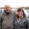 Joyce and Meyer Blumenthal, Winthrop<br /> Photo by Will Broaddus/Salem News, Friday,  February 24, 2012.