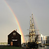Rainbow over the Friendship<br /> <br /> Photographer's Name: Len Tremblay<br /> Photographer's City and State: Salem, MA