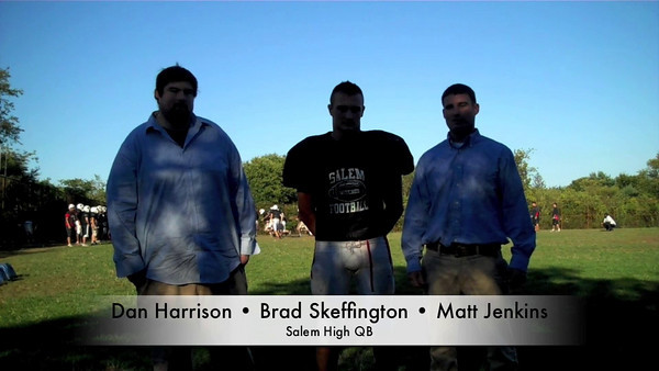 Salem News sportswriters Dan Harrison and Matt Jenkins talk with Salem's Brad Skeffingto about the Witches' upcoming game with  Saugus.