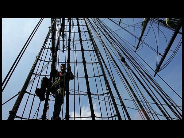 A 200-year-old sailing lesson: The Friendship helps train Navy crew for USS Constitution. Audio slide show by Deborah Parker.