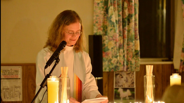 Pet ministry at Calvary Episcopal Church in Danvers. Video by Mark Teiwes.