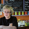 Beverly:<br /> With tears in her eyes Jan Pelligrini talks about her business closing.  She is the owner of Tastebuds Gourmet, a longtime local sandwich shop, which is closing on Friday after 27 years.<br /> Photo by Ken Yuszkus/The Salem News, Thursday, April 11, 2013.