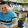 Salem:<br /> Francisco Lora is the owner of Tropicana Market in Salem.<br /> Photo by Ken Yuszkus/The Salem News, Friday, April 19, 2013.
