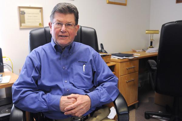 DANVERS:<br /> Dan Bennett is a Danvers Selectman Candidate.<br /> Photo by Ken Yuszkus/The Salem News, Thursday, April 18, 2013.