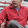 Ipswich:<br /> Umesh Bhuju is the owner of Zumi's Espresso and Ice Cream in Ipswich.<br /> Photo by Ken Yuszkus/The Salem News, Tuesday, April 9, 2013.