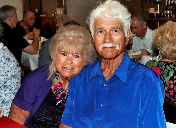 Salem: Nancy and Teddy Thrasivoulos enjoy quality time together. photo by Mark Teiwes / Salem News