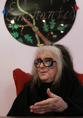 Salem: Laurie Cabot, the official Witch of the City of Salem, talks about her partnership with the new Enchanted Bookstore on Pickering Wharf. David Le/Salem News