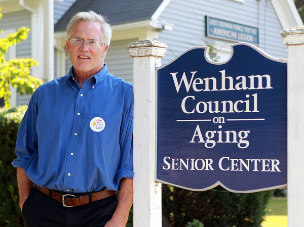 Wenham: Jim Reynold is the Director of the Wenham Council on Aging. David Le/Salem News