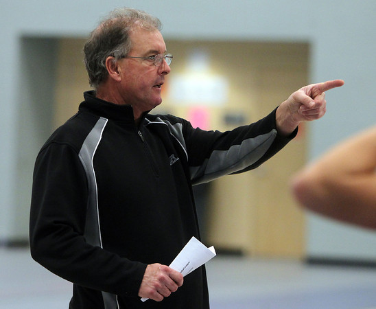 Danvers: Danvers Head Coach Pat Veilleux. David Le/Salem News