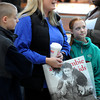 Ken Yuszkus/Staff photo: Peabody: Kelli Silva of Peabody with her son Michael and daughter Megan, speaks about shopping at the Northshore Mall the day after Christmas.