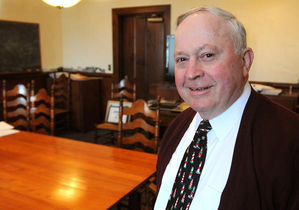 Ken Yuszkus/Staff photo: Beverly: Beverly Mayor Bill Scanlon leaves after 18 years in office.