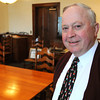 Ken Yuszkus/Staff photo: Beverly: Beverly Mayor Bill Scanlon leaves after 18 years in office.