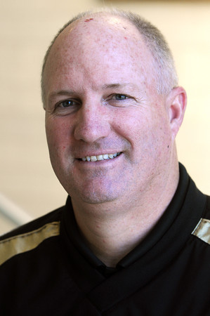 Ken Yuszkus/Staff photo. Peabody: Bishop Fenwick football coach Dave Woods.