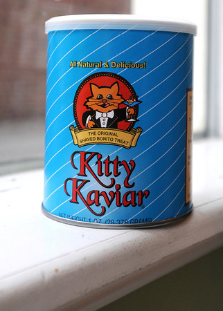 Ken Yuszkus/Staff photo. Salem: Kitty Kaviar is a popular holiday pet gift sold at The Barking Cat in Salem.